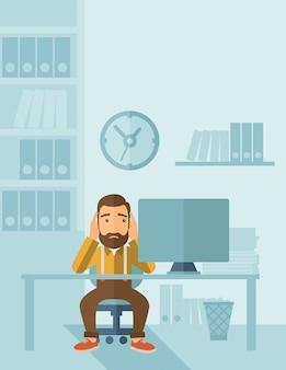 Empresário infeliz