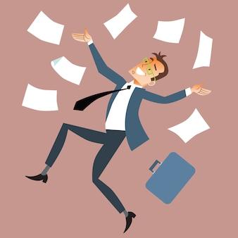 Empresário lança papel