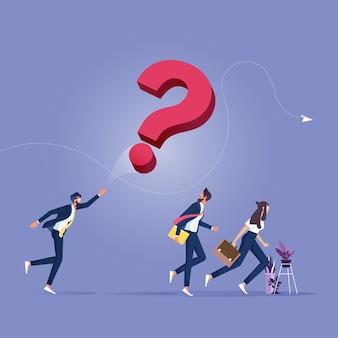 Empresário lança um grande ponto de interrogação para outras pessoas