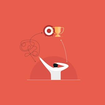 Empresário na confusão entre o jeito difícil e o fácil