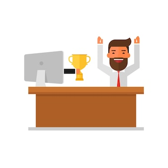 Empresário recebeu prêmio no concurso on-line do monitor.