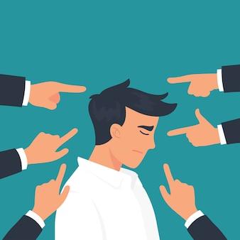 Empresário se intimidar em seu escritório