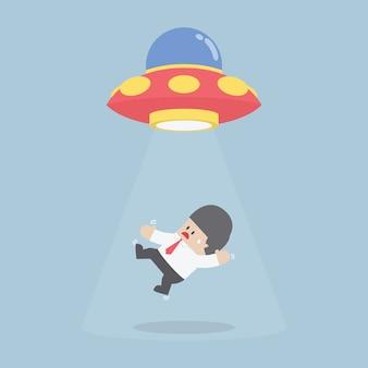 Empresário seqüestrado por nave alienígena ou ufo