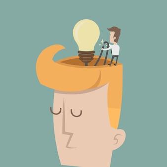 Empresário tem idéia