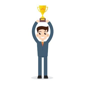 Empresário vencedor