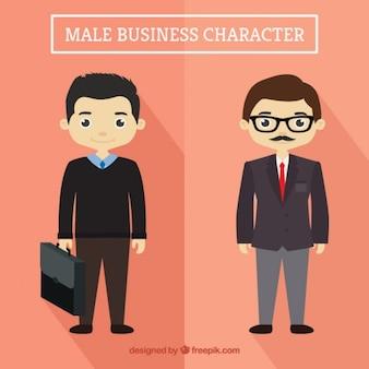 Empresários agradáveis