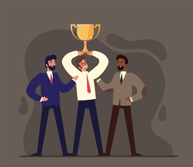 Empresários de sucesso