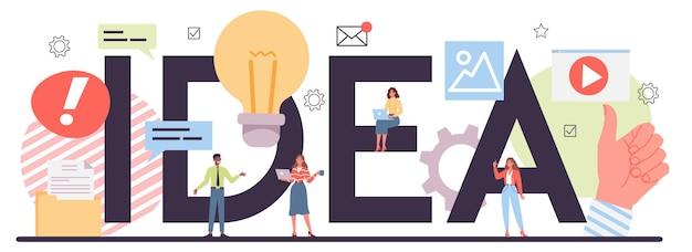 Empresários gerando ideias