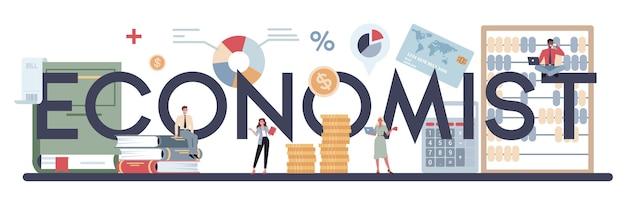Empresários trabalham com dinheiro