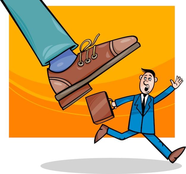Empresas e desenhos animados de pequenas empresas