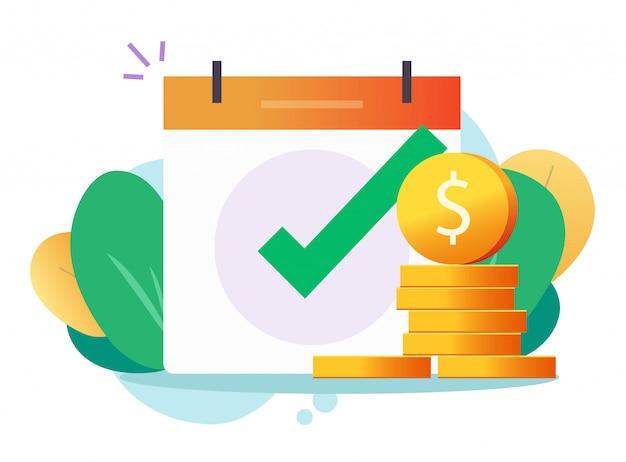 Empréstimo em dinheiro aprovado