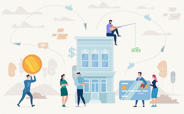Empréstimo em planos de negócios