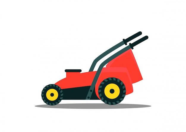 Empurre o cortador de grama