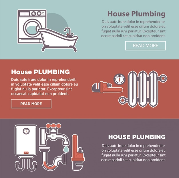 Encanamento de casas e encanador