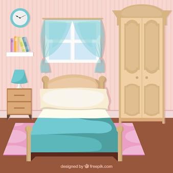 Encantador interior quarto