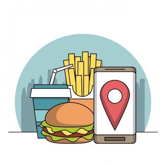 Encomenda de comida online
