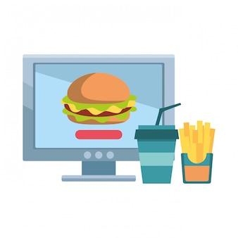 Encomenda e entrega de comida online