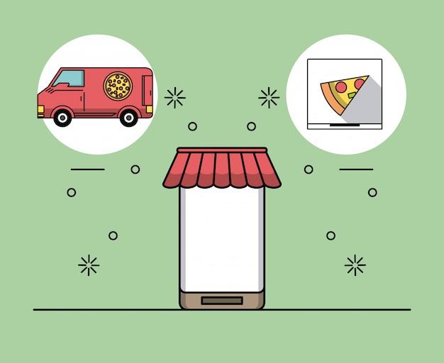 Encomendas comida online