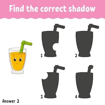 Encontre a sombra correta