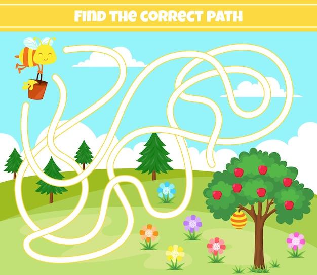 Encontre o caminho correto
