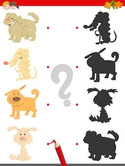 Encontre sombra educacional jogo para crianças