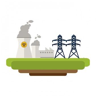 Energia industrial usina nuclear