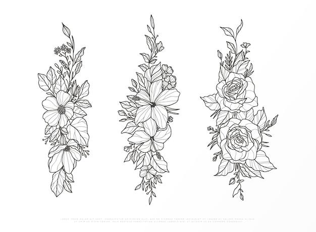 Enfeite de flor de primavera