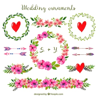 Enfeites de casamento