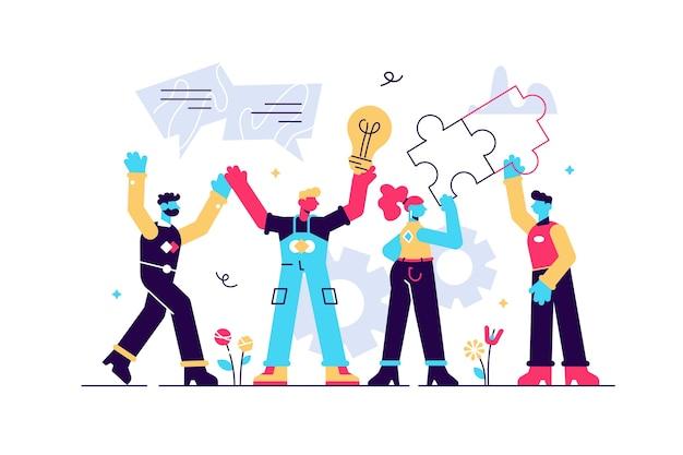 Engajamento do funcionário de rh com motivação para o trabalho