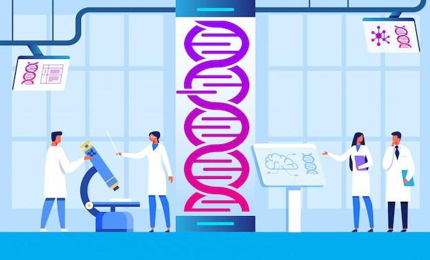 Engenharia genética e centro de pesquisa científica
