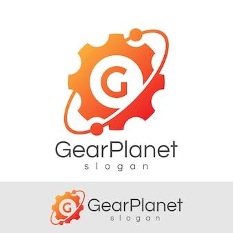 Engenharia inicial letter g logo design