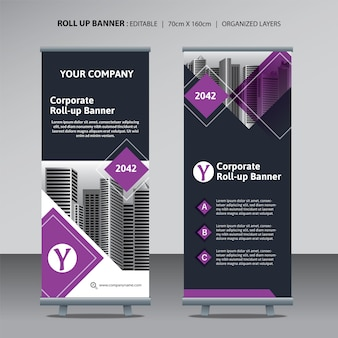 Enrole o modelo de design para negócios corporativos