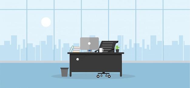 Ensino de escritório e ensino para trabalhar usando um programa de design