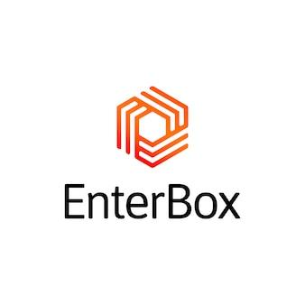Enter box logo
