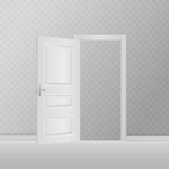 Entrada exterior em madeira com luz brilhante. abra a porta da frente