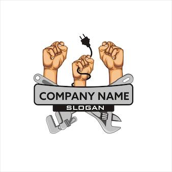 Entrar em contato com o logotipo da empresa