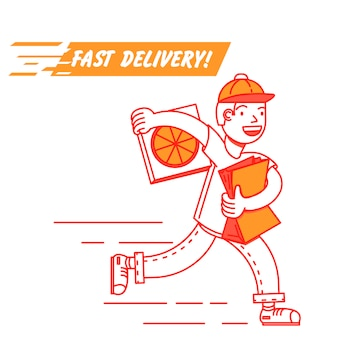 Entrega de fast food