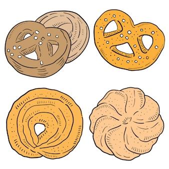 Entregue a ilustração desenhada do bolinho.