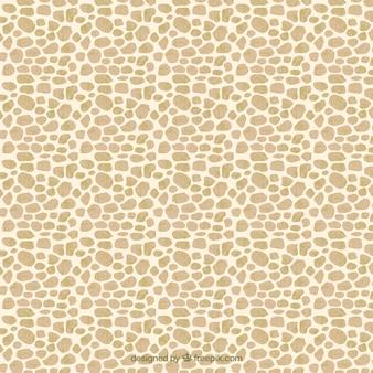 Entregue o teste padrão girafa pintado