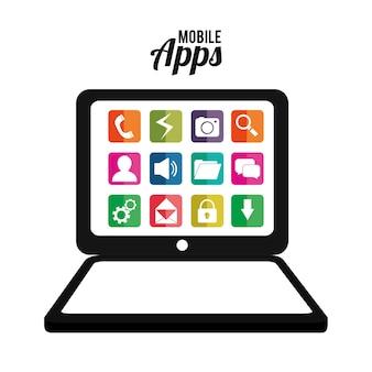 Entretenimento de aplicativos móveis.