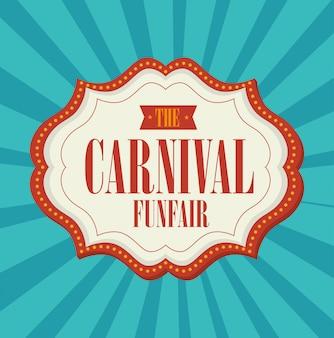 Entretenimento de carnaval de circo
