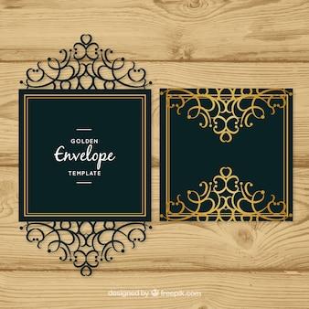 Envelope decorativo elegante
