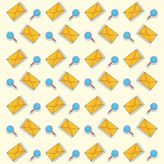 Envelope e lupas