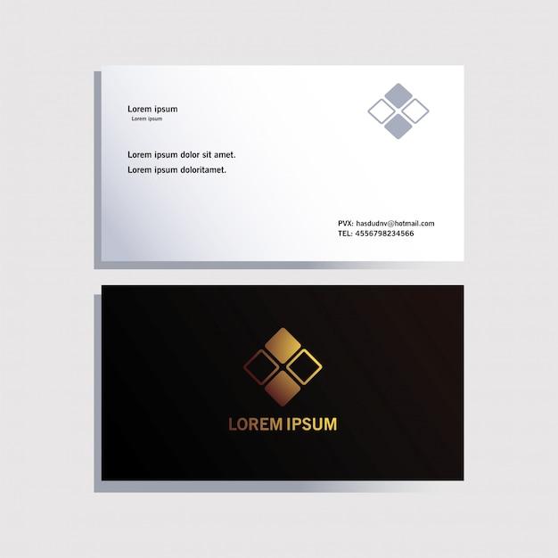 Envelope, modelo de identidade corporativa sobre branco