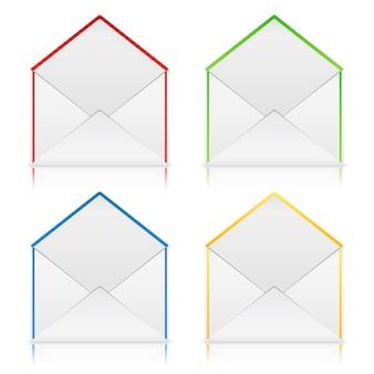 Envelopes abertos