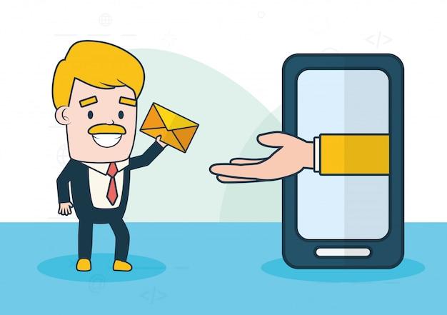 Enviar conceito de email