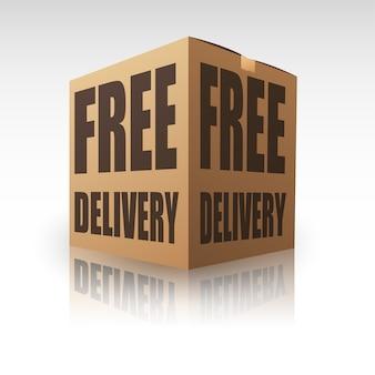 Envio gratuito de pacote de entrega