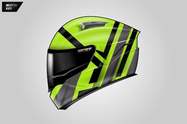 Envoltório do capacete