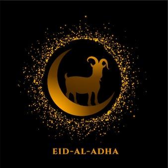 Eparkling eid al adha bakrid saudação ao festival