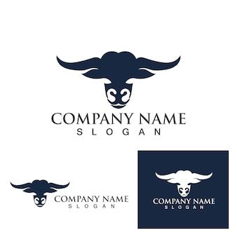 Eps do vetor logotipo e símbolo da bull